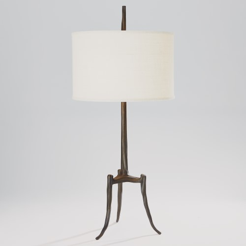 Trident Table Lamp-Bronze
