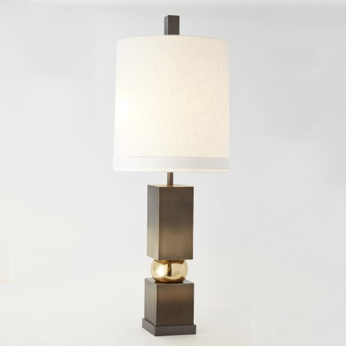 Squeeze Lamp-Brass/Bronze
