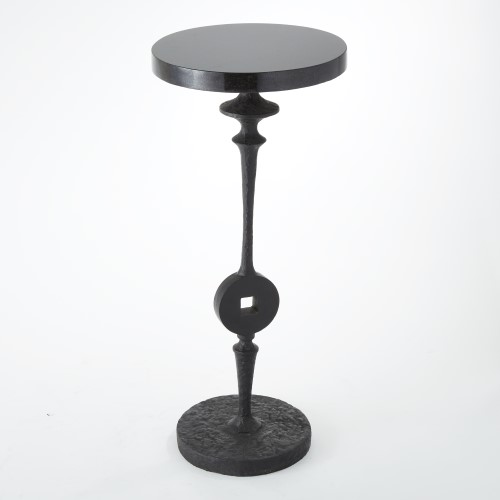 Artisan Square Peg Accent Table