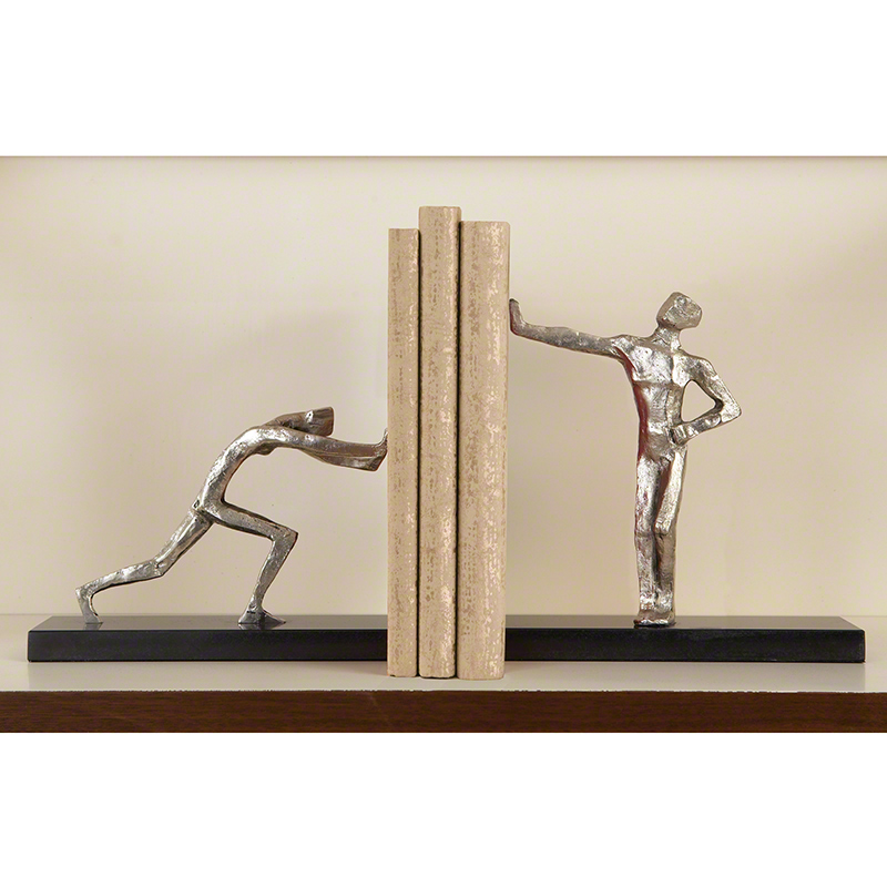 Blockhead Bookends - Pair