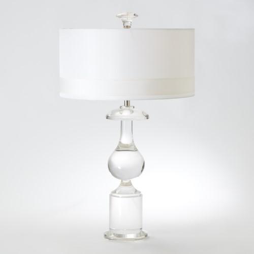 Classic Bulb Crystal Lamp