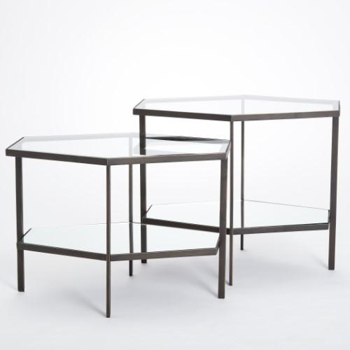 Hexagon Table-Bronze