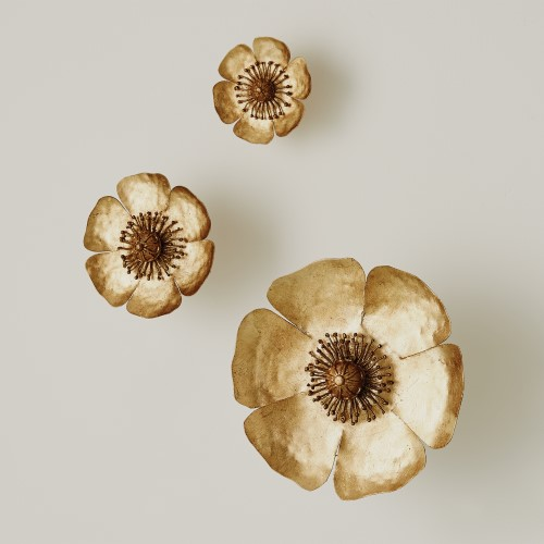 S/3 Golden Poppies
