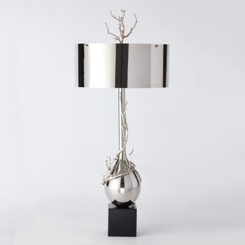 Twig Bulb Lamp-Nickel
