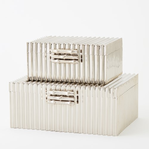 Corrugated Bamboo Box-Nickel
