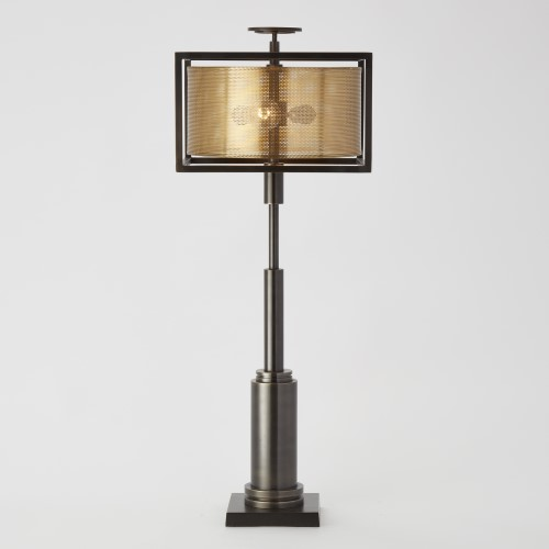 Double Shade Lamp