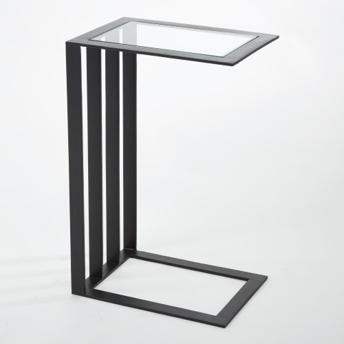 Cantilever Side Table-Bronze