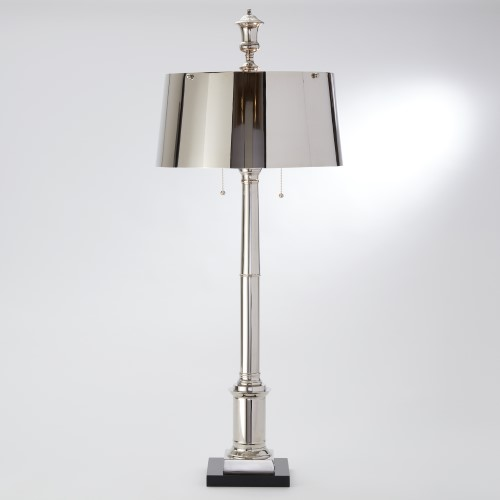 Library Lamp-Nickel