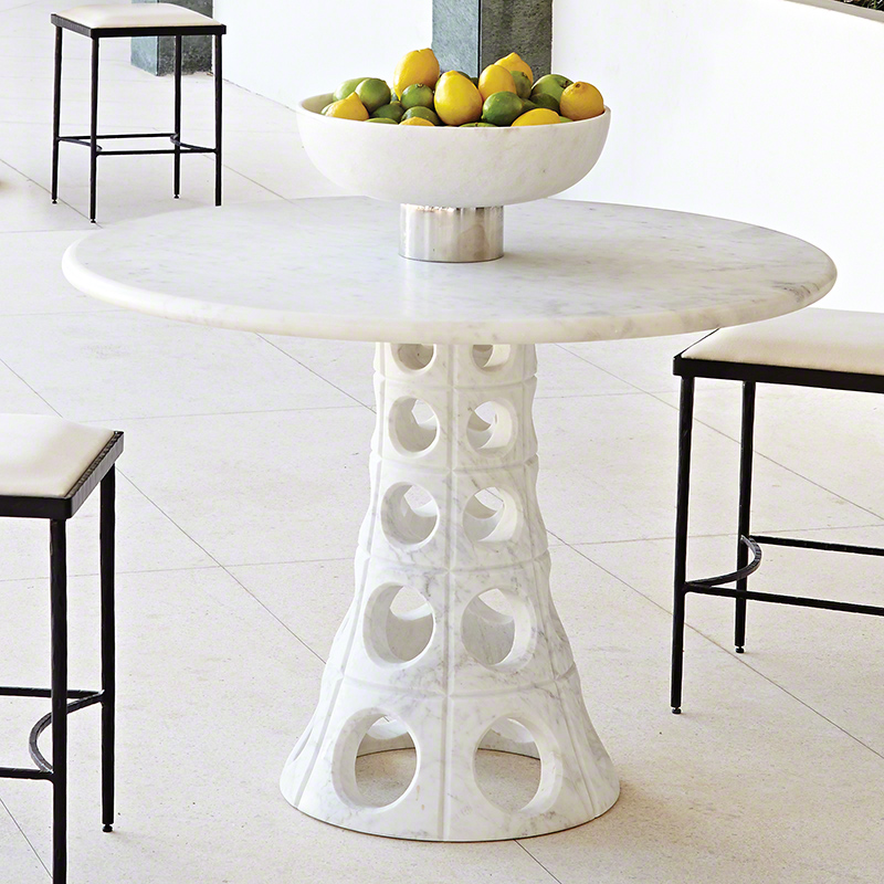 Taper Circle Dining Table
