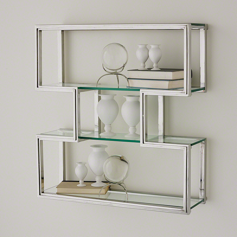 One Up Wall Shelf-Stainless Steel