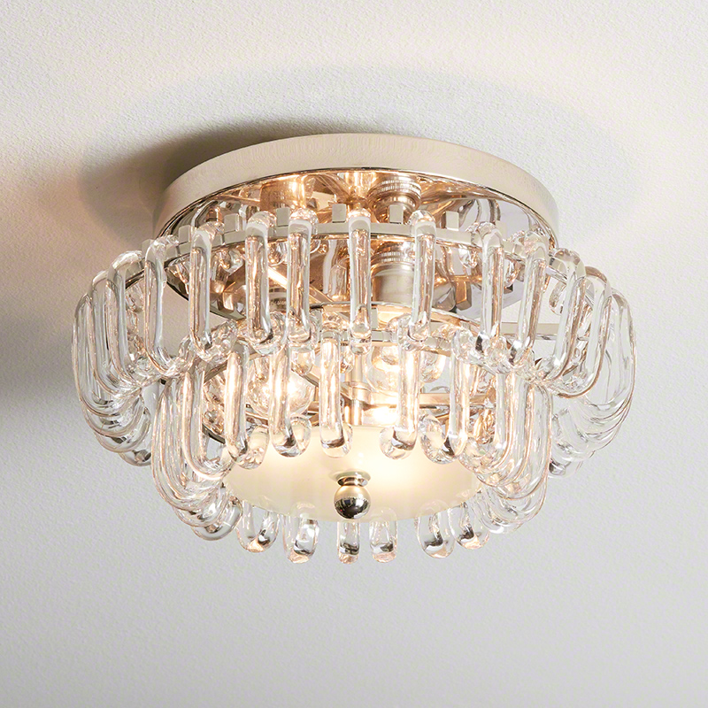 Mini C Chandelier-Nickel