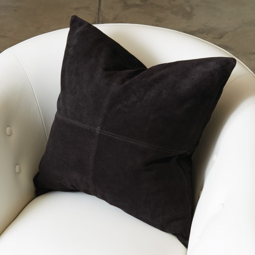 Four Square Pillow-Black