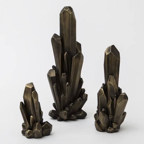 Facet Cluster-Bronze