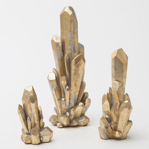 Facet Cluster-Gold