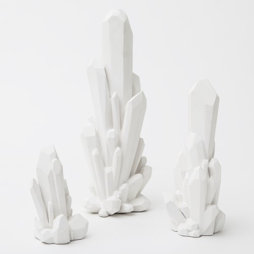 Facet Cluster-White