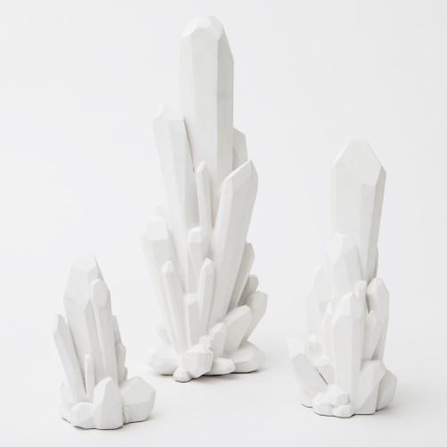 Facet Cluster-White