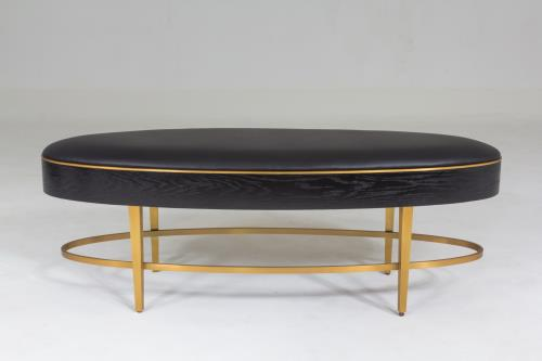 Ellipse Bench-Ebony