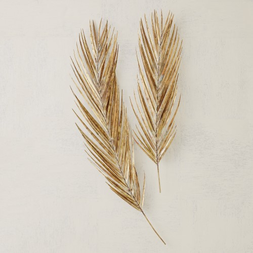 Palm Leaf-Antique Brass