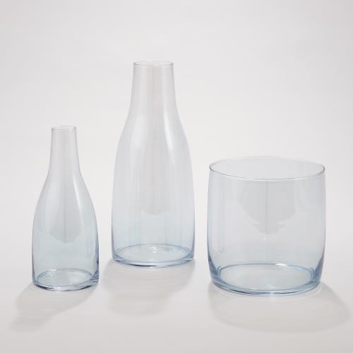 Aurora Vase-Cerulean-Round