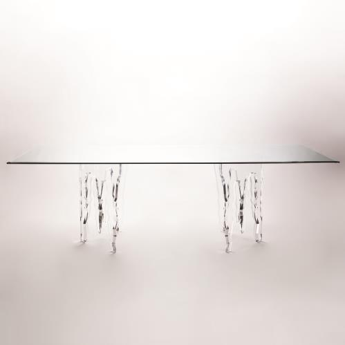 Ice Dining Table w/48x96x1/2