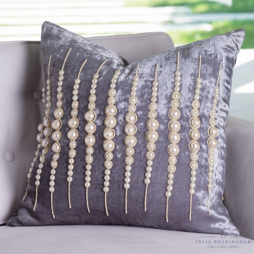 Strands of Pearls Pillow