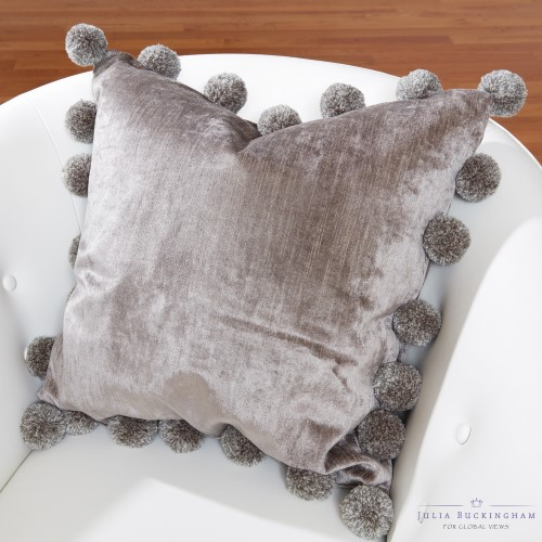 Cheer Pillow-Charcoal
