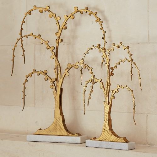 Lyric Sculpture-Antique Gold
