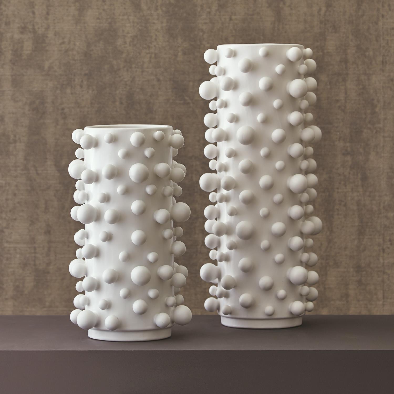 Molecule Vase Matte White
