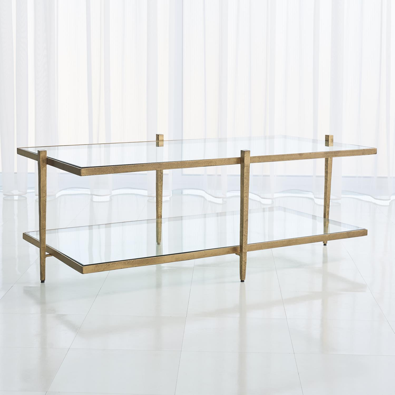 Pleasing Laforge Cocktail Table Antique Gold Frankydiablos Diy Chair Ideas Frankydiabloscom