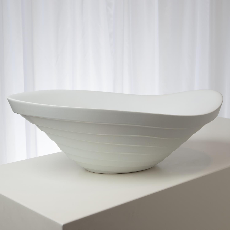 Terrace Bowl Matte White