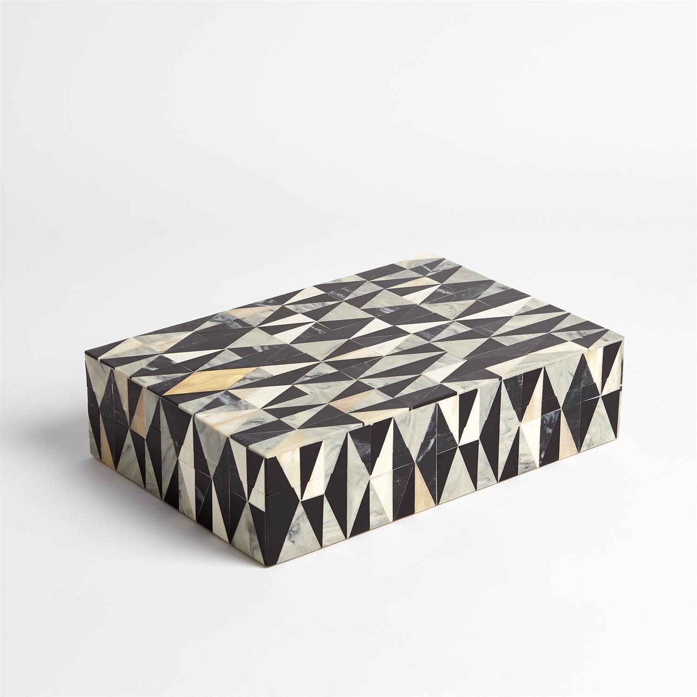 Brass Diamond Box