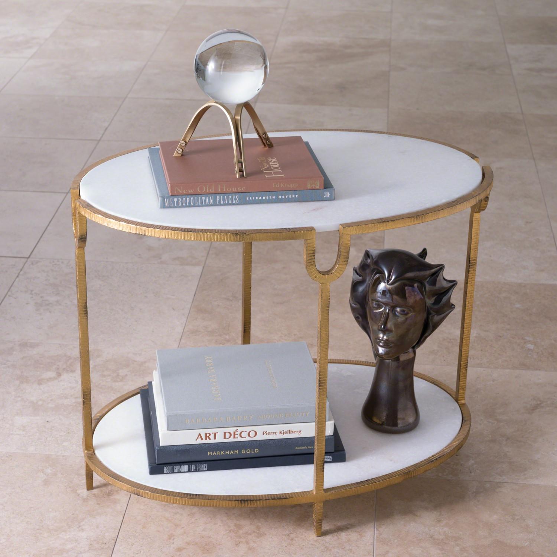 4f7873e99e584 Iron and Stone Side Table