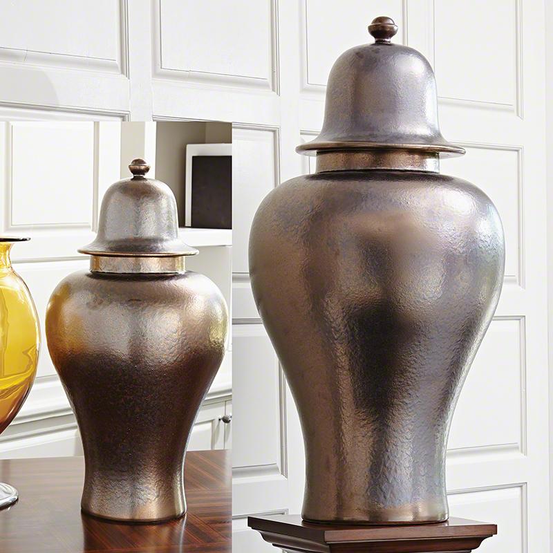 Japan Ginger Jar-Bronze