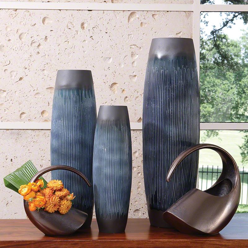 Matchstick Vase-Ink