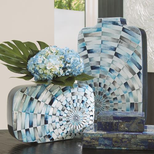 Radial Tiles Vase
