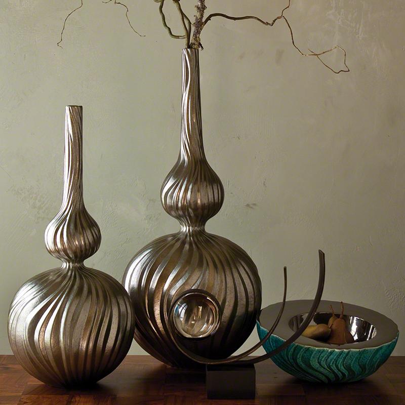 Magura Vase-Metallic