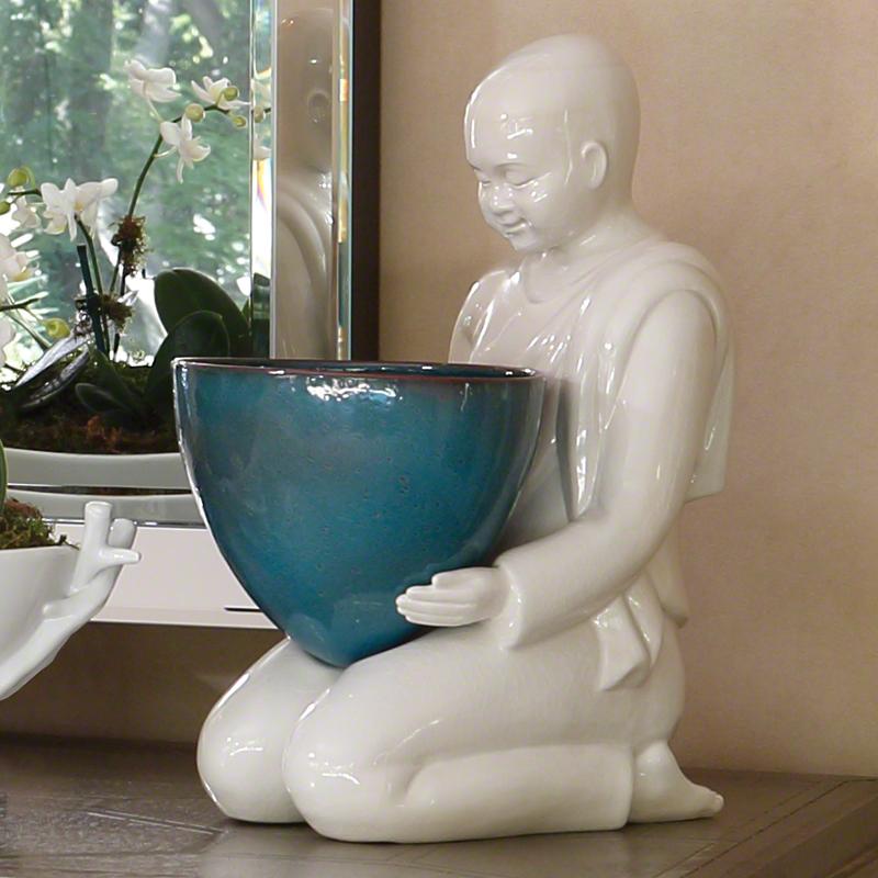 Offering Bowl-Aqua
