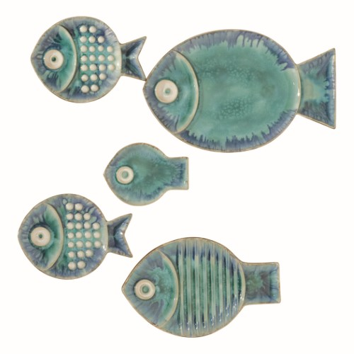 Blue Fish Plate