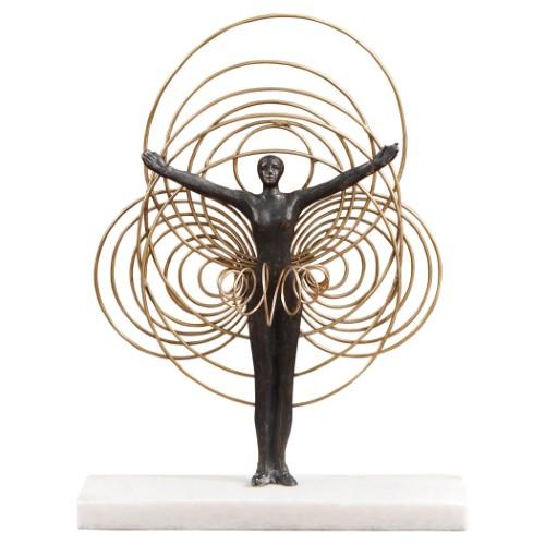 Bauhaus Wire Woman