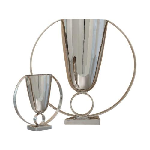 Trophy Vase-Nickel