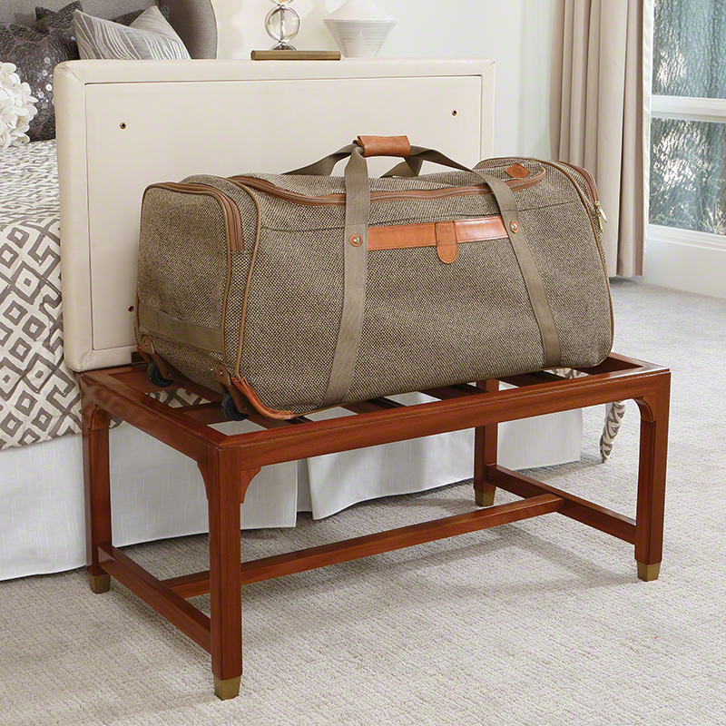 BACK to thumbnails - GLOBAL VIEWS Products Folding Luggage Bench