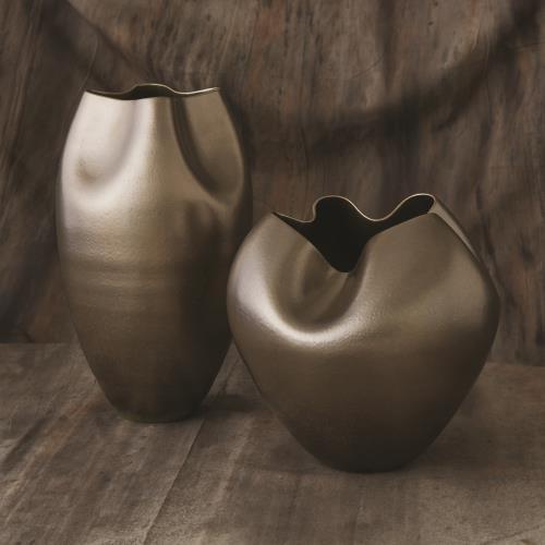 Plait Vase-Silver Haze