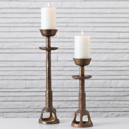 Temple Candlesticks