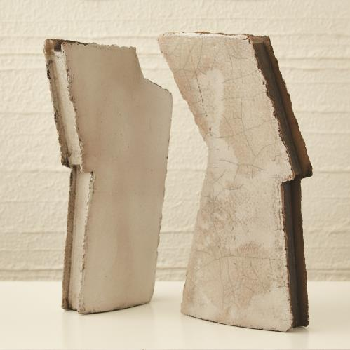 Wing Sculpture-Raku