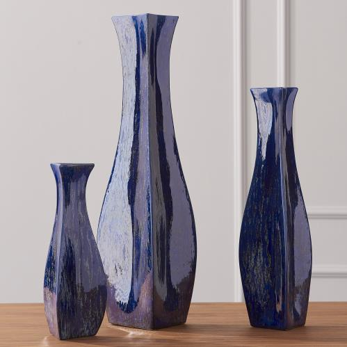 Bermuda Vase-Blue