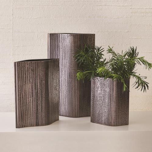 Pierced Vase-Reactive Graphite
