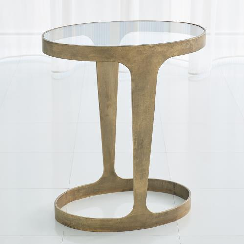 Oslo Accent Table-Gold