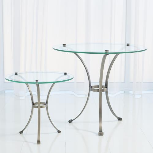 Two Tone Round Tables