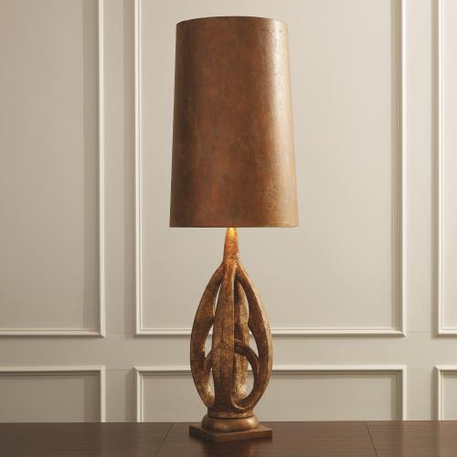 Groovy Lamp-Brass