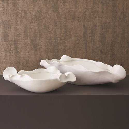 Free Form Bowl-Matte White